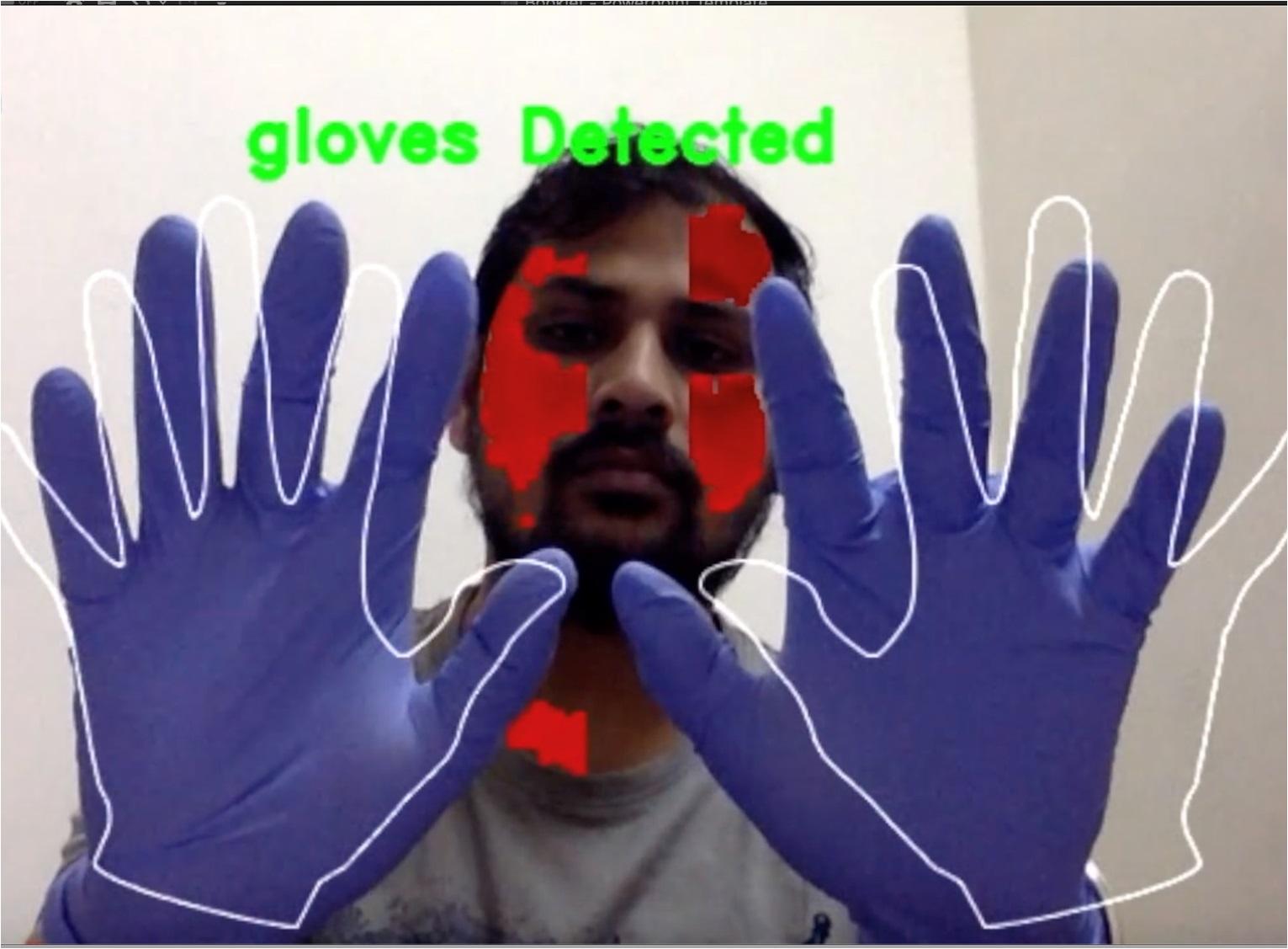 DSAS Gloves Detection