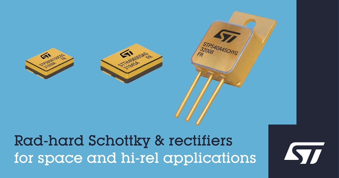 ST Rad hard rectifiers and SEB Schottky IMAGE min