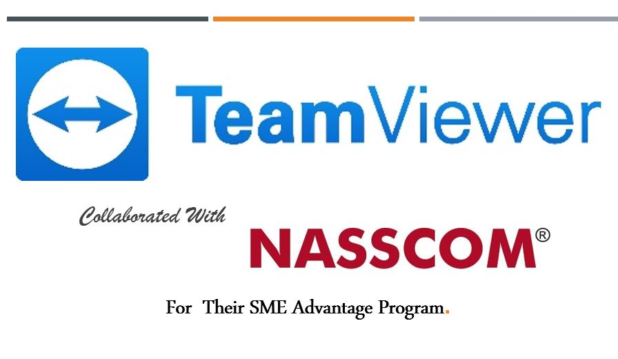 TeamViewer joined Nasscom for their SME Advantage Program