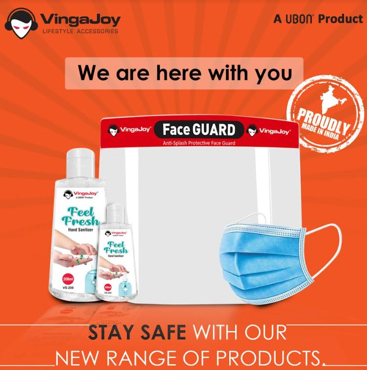 Unlock 1.0 with VingaJoy's new range of Essential Products