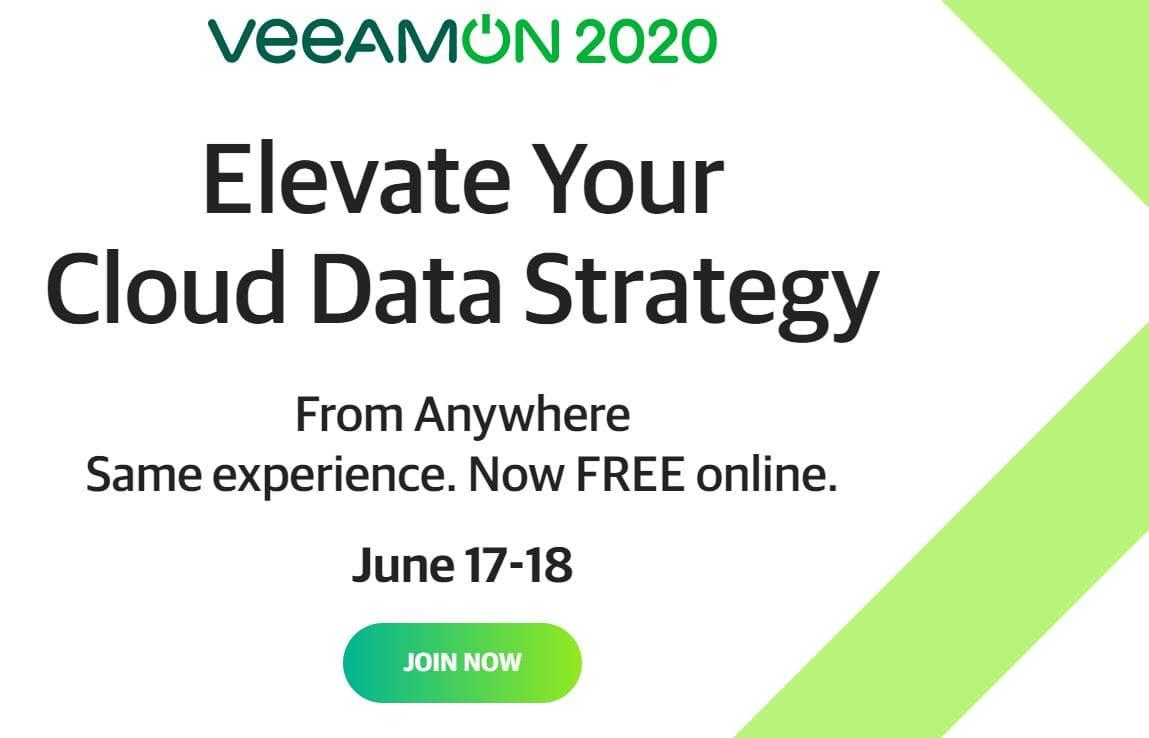 Veeam Enables Organizations to Elevate their Cloud Data Strategies at VeeamON 2020 min