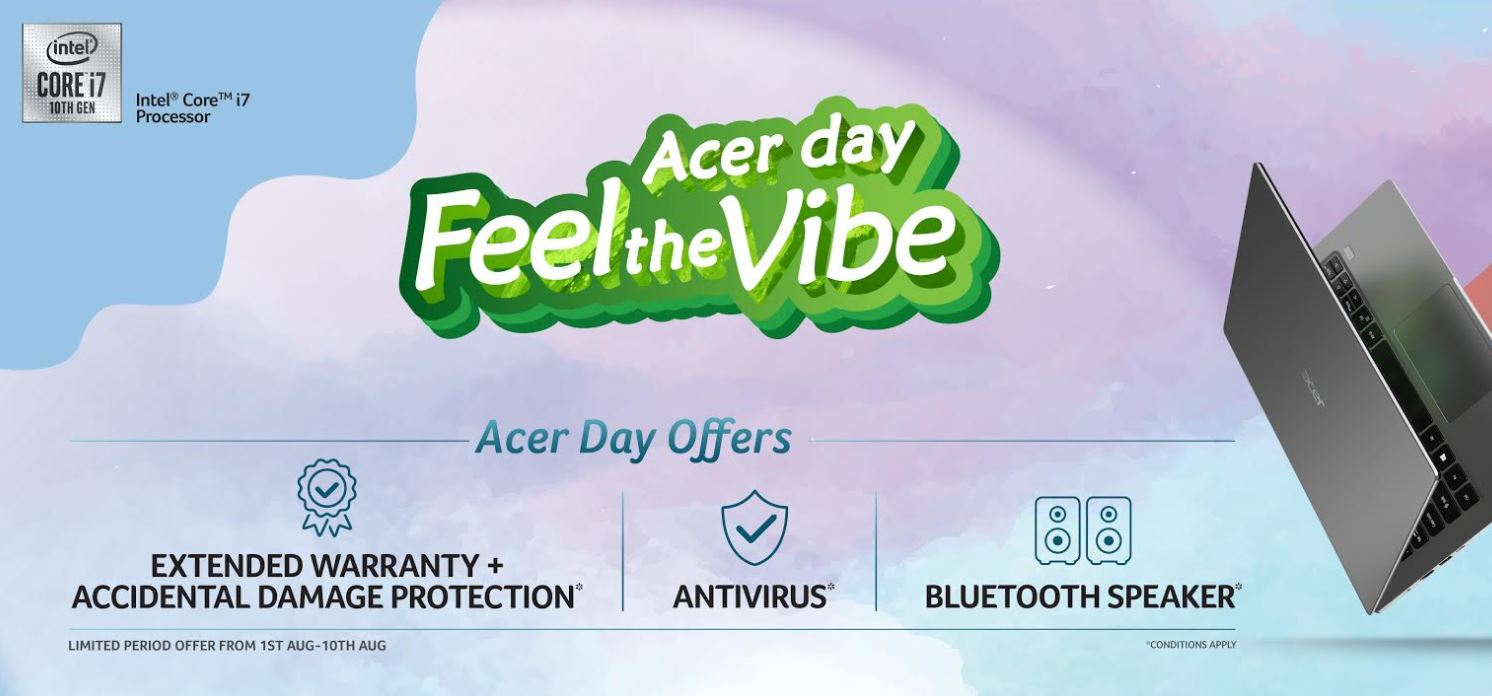 "Acer announced the return of the ""Acer Day"" campaign"