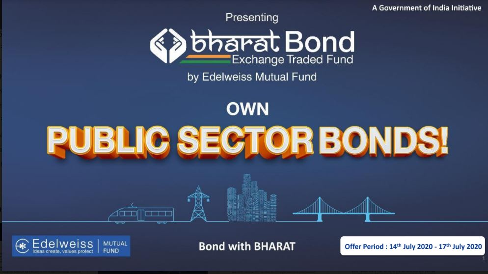 Edelweiss Mutual Fund to launch the 2nd tranche of 'BHARAT Bond ETF'