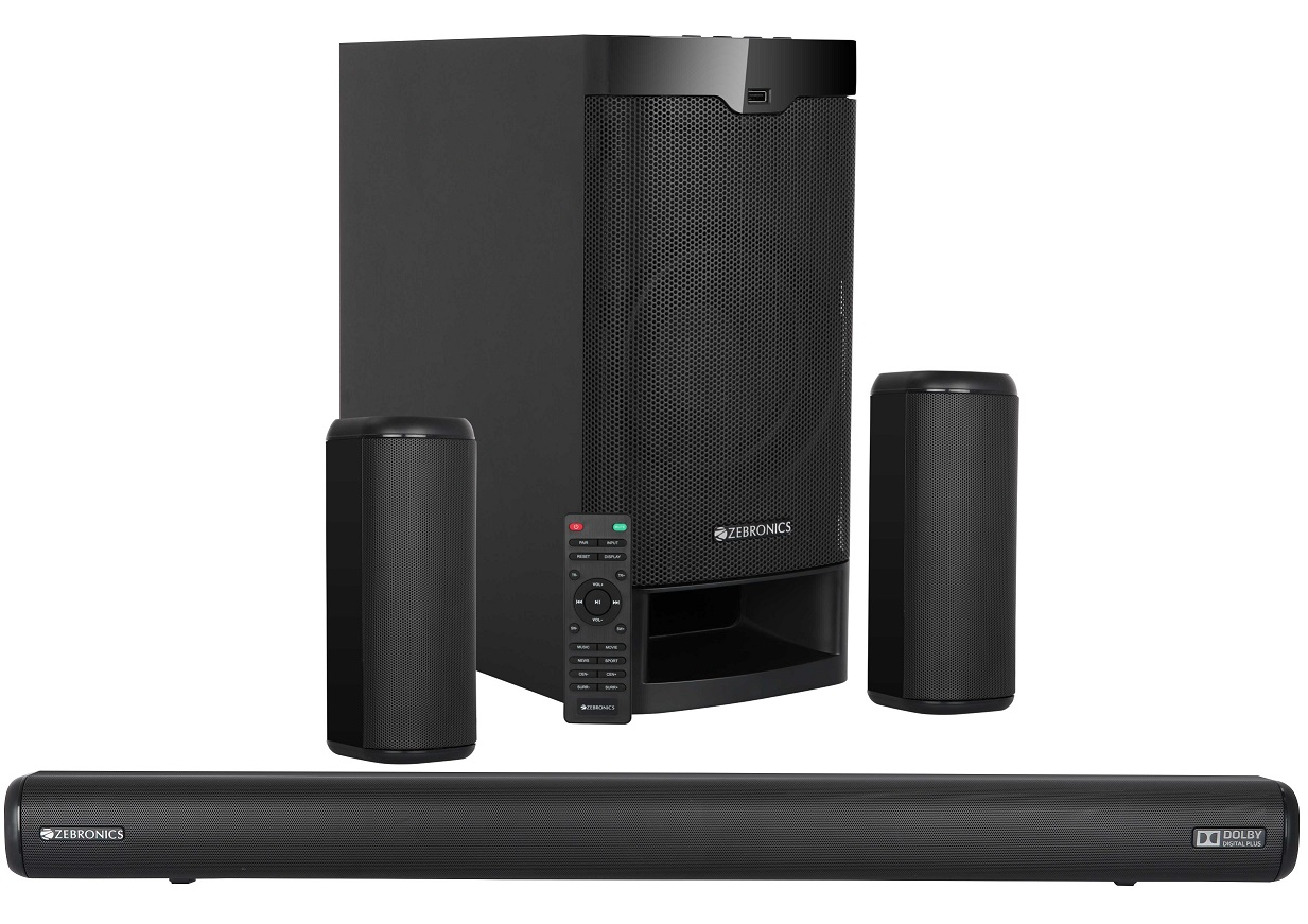 "Zebronics launches ""ZEB Juke Bar 9400 Pro Dolby 5.1"" sound bar"