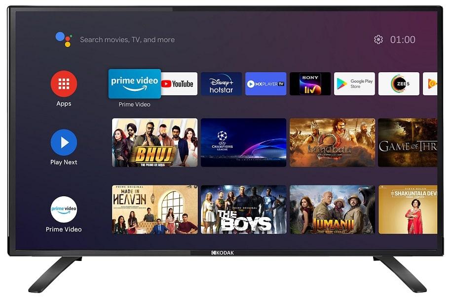 Kodak TV India announces 7XPRO and CA Android TVs min