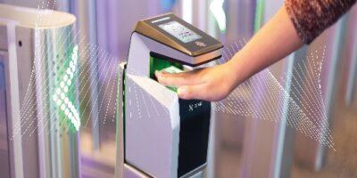 IDEMIA's MorphoWave contactless 3D fingerprint scanning technology