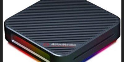 AVerMedia Launches External Video Capture Card Live Gamer BOLT