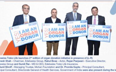 Edelweiss Tokio Life unveils educational program for organ donation