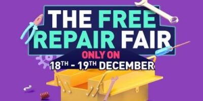 Onsitego is offering Free Repairs to all on 18Th 19Th December 2020 min