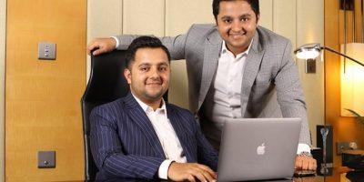 LtoR Yuvraj Bhardwaj CEO Yashraj Bhardwaj Director Petonic Infotech min min