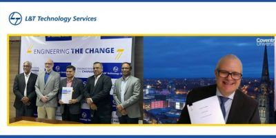 Coventry University LT Technology Services join hands to develop new age solutions for the automotive and manufacturing min