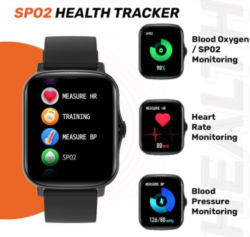 SPo2 smartwatch Fire min