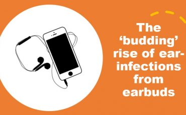 The 'budding rise of ear infections from earbuds min