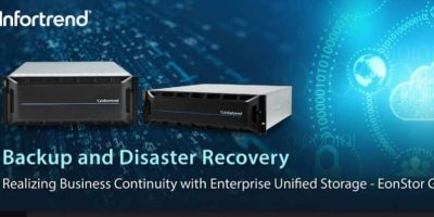 Infortrend Launched U.2 NVMe Unified Storage Solution