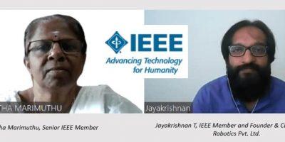Ramalatha left and Jayakrishnan right