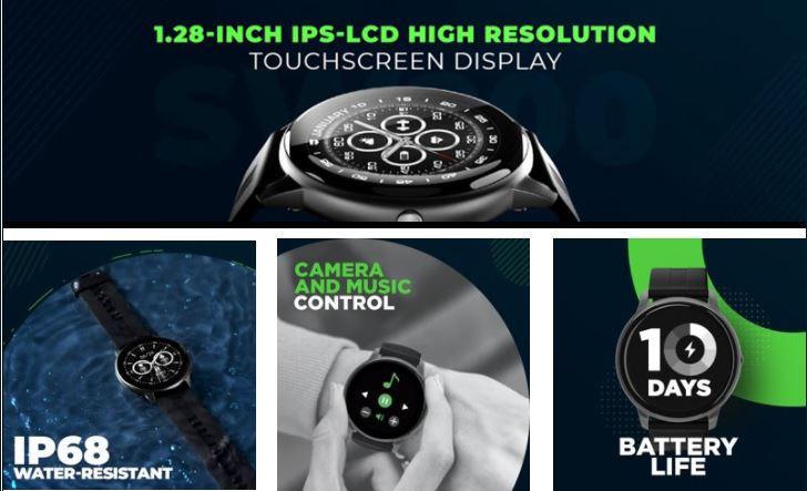 Syska launches its smartwatch Syska Bolt SW200 min