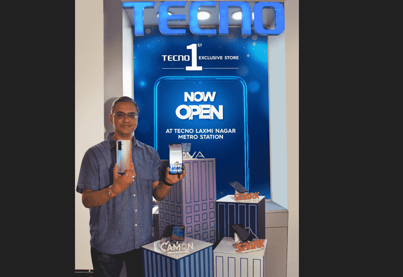 TECNO launches its first ever exclusive retail outlet in Delhi