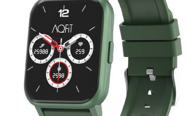 AQFIT W5 EDGE Smart Watch with Activity Tracker SPO2 Monitor