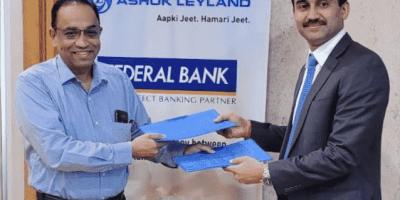 Federal Bank partners with Ashok Leyland