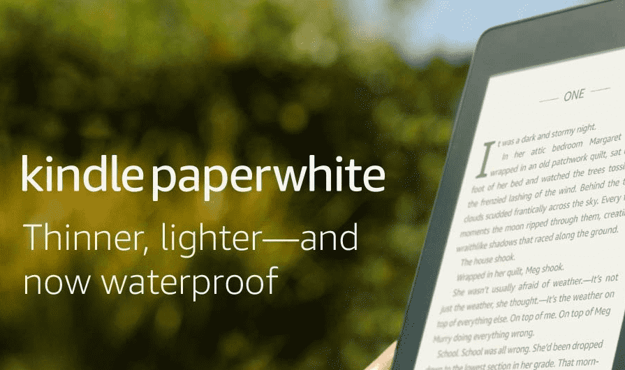 Kindle Paperwhite and New Kindle Paperwhite Signature Edition