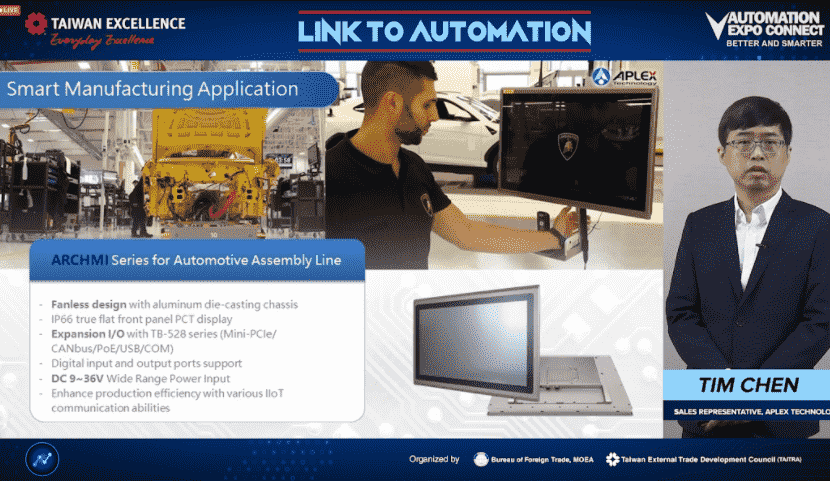 Taiwan Excellence Introduces Advanced Automation Solutions