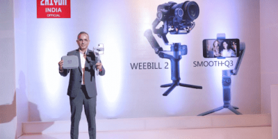 ZHIYUN India launches SMOOTH Q3 and WEEBILL 2 Gimbal