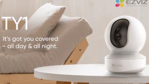 EZVIZ TY1 2MP Smart Wi Fi Pan Tilt Camera in India