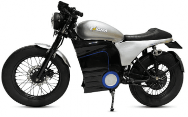 Enigma Automobiles launches its first Electric motorcycle – 'Cafe Racer