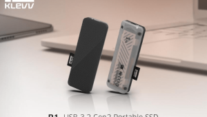 KLEVV Launches S1 and R1 Portable SSDs with Extreme Speeds