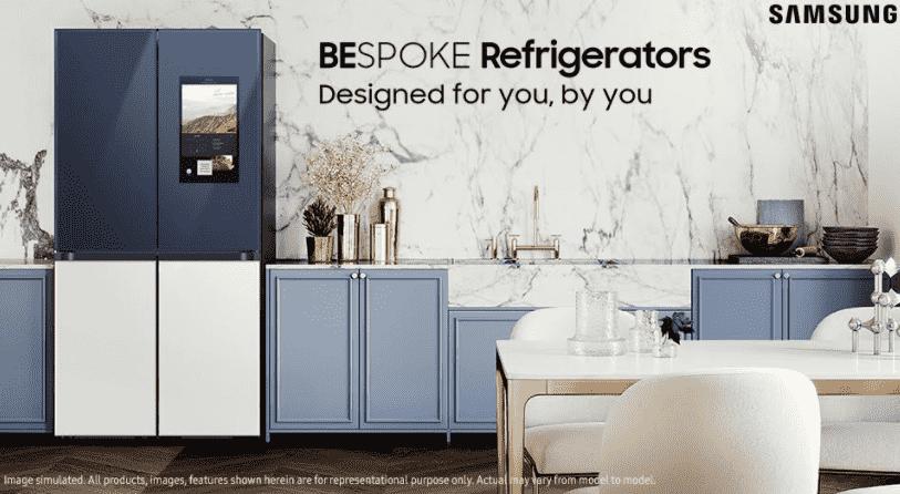 Samsung Brings 'BESPOKE 4 Door Flex French Door Refrigerators